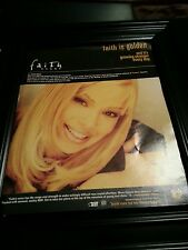 Faith Evans  You Used To Love Me Rare Original Promo Poster Ad Framed!