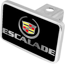 New Cadillac Escalade Mirrored Logo/Word Hitch Cover Plug