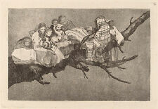 Goya Prints: Los Disparates (Follies): No. 3 - Ridiculous Folly: Fine Art Print