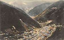 Wardner Idaho with Kellog Peak Antique Postcard L570