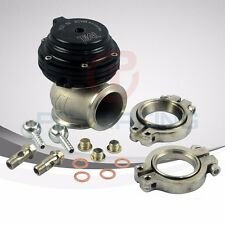 TIAL MVS 38mm BLACK WASTEGATE WITH V-BAND AND FLANGES MV-S
