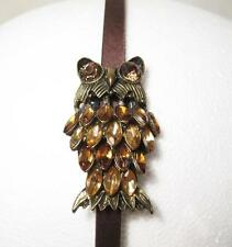 Vintage Owl Woman's Gem Hair Band Headband Jewelry Accessories Owl Collectors