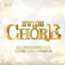 EWIGE CHÖRE 2 CD NEU VARIOUS MÜNCHENER KAMMERORCHESTER/LONDON VOICE CHORE