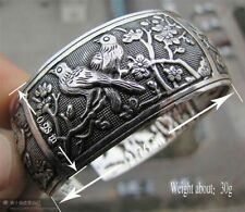 New Tibetan Tibet Silver The sun Elephant Bangle Cuff Bracelet # 9