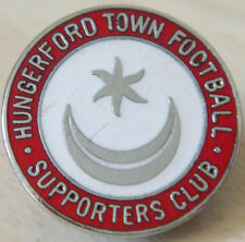 Hungerford town vintage supporters club maker london badge broche broche 20mm dia