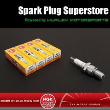 Standard Spark Plugs by NGK - Stock #4677 - BR9ECS - Solid Tip - 4 Pack