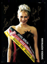 Sandra Hoffmann Miss Germany 2000 TOP AK Orig. Sign. Model +74148