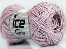 50g Natural Sommer Garn Summer Light Pink *ICE YARNS* 100%Baumwolle