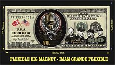 VOLBEAT IMAN BILLETE 100 DOLLARS BILL MAGNET