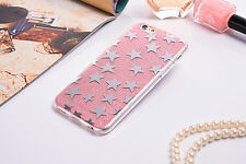Slim Bling Glitter Mirror Stars Soft Case 2in1 Cover For Apple iPhone 7 7  Plus