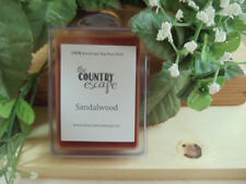 Sandalwood Scented Soy Wax Clamshell Melt Tart- 2wks of Fragrance