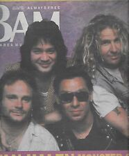 BAM BAY AREA MUSIC MAGAZINE #286 JULY 1, 1988 (FN+) VAN HALEN