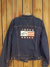 Tommy Hilfiger Jean Jacket Blue Denim Women's Size XL
