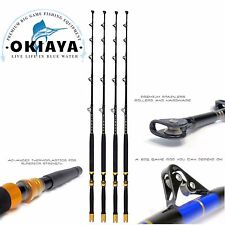 SALTWATER FISHING RODS 30-80LB (4PACK) FISHING POLES FISHING ROD PENN SHIMANO