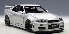 Autoart Nissan NISMO R34 GT-R Z-TUNE SILVER LE 2000 1:18*New*In Stock!
