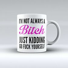 I'm not always a Bitch, cool funny 11 oz coffee mug humor