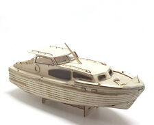 Sacle 1/48 Laser-cut Wooden boat Model kit: USSR royal yacht model