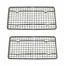 Heavy-Duty Cooling Rack, Wire Pan Grade, Commercial grade, Oven-safe, Set of 2