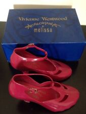 Vivienne westwood melissa mary jane t bar shoes rose uk 4 37