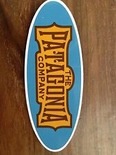 Patagonia Sticker blue oval
