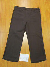 vintage levi's 517 polyester boot cut REPAIRED Irregular 40x32 made USA 10951R