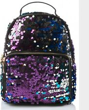 Celestial Levels Sequin Iridescent Mermaid Mini Backpack Bag Purse NWT