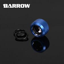 """Barrow """"scelta"""" HARD TUBO RACCORDO A COMPRESSIONE PER TUBO 14mm-BLU - 245"""
