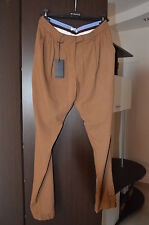 PINKO pantaloni donna T.42 cammello Made in Italy Women's trousers Женские брюки