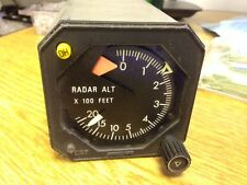 King KNI 415 Radar Altimeter Indicator  As Removed