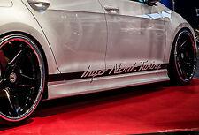 RSV2 Seitenschweller Schweller Sideskirts ABS für Audi A5+S5 B8/B81 Coupe