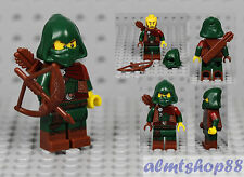 LEGO Series 16 - Rogue Archer 71013 Minifigure Green Robin Hood Collectible  CMF