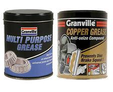 Granville Copper Grease Slip Anti Seize Compound & Multi Purpose 500g - Twinpack