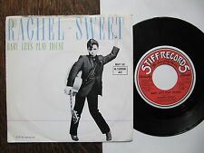 "7"" Rachel Sweet - Baby let's play house / Wildwood Saloon Stiff  plays perfect !"