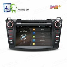 "7"" Android 6.0 Quad-Core Car Audio Stereo DVD Player GPS for Mazda 3 2010-2013"