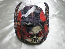 Grim Reaper II Doo Rag Chef Hat Do Rag Bandanna Biker Capsmith Skullcap Headwrap
