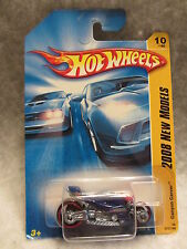 Hot Wheels  2008 New Models  Canyon Carver Blue  NOC 1:64 scale W-04