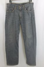 MENS LEVIS 550 DARK RELAXED FIT TAPERED LEG JEANS 33 X 30 BRAND NEW HAS TEAR