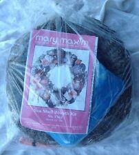 """MARY MAXIM Sea Shell Wreath Kit Seashell No. 7542 12"""" Do it Yourself"""