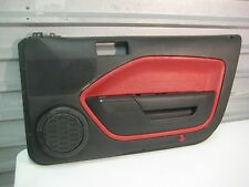 2005-2009 FORD MUSTANG OEM SHAKER 500 PASSENGER SIDE DOOR PANEL RED BLACK