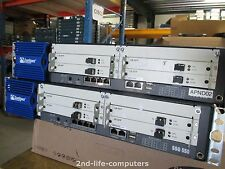 JUNIPER SSG 550 Secure Services Gateway / Firewall INCL 4X GB SFP CARDS  + SFP'S