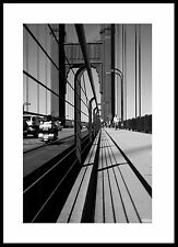 Golden Gate Bridge, Street Scene, Fine Art Photography, Black and White.
