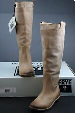 Frye Womens Paige Tall Riding Leather TAN Fashion Boots SIZE 9.5 M STYLE #77534