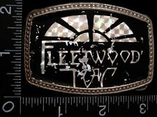 LI14121 VINTAGE ***FLEETWOOD MAC*** BRITISH/AMERICAN ROCK BAND BELT BUCKLE