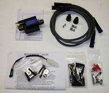 Yamaha RZ350 Ignition Coil Kit - Dyna Coil, Plug Wires, Harness and Hardware