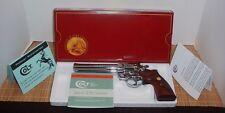 VINTAGE 1984-1988 150 Year COLT KING COBRA  ANACONDA PYTHON PISTOL BOX & PW