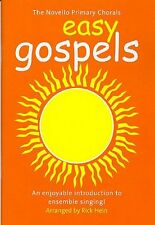Novello Primary Chorals Easy Gospels Learn to Sing Vocal Voice Music Book