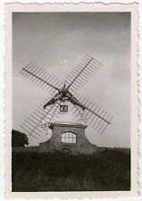 PHOTO ANCIENNE - MOULIN À VENT BRETAGNE 1935 - WINDMILL - Vintage Snapshot