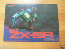 K070 KAWASAKI  BROCHURE PROSPEKT FOLDER NINJA ZX-6R DUTCH 8 PAGES