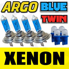 4 X H7 499 Xenon Azul Hielo 55w bombillas Doble Twin Pack Set Faros bombillas & 501