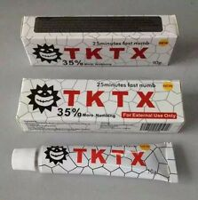 3pcs Anesthetic TKTX 35% More Numbing Tattoo Cream Semi Permanent Piercing 4Hrs